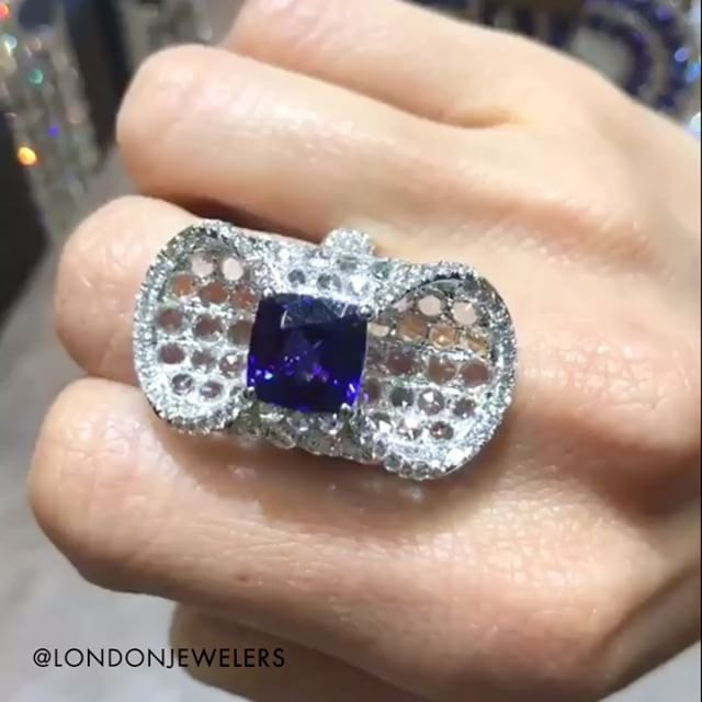 London Jewelers  (@londonjewelers) on Instagram: We are obsessed with this tanzanite and diamond ring! New at @londonjewelers . . . #londonjewelers…