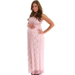 Maternity Dress Baby Pink