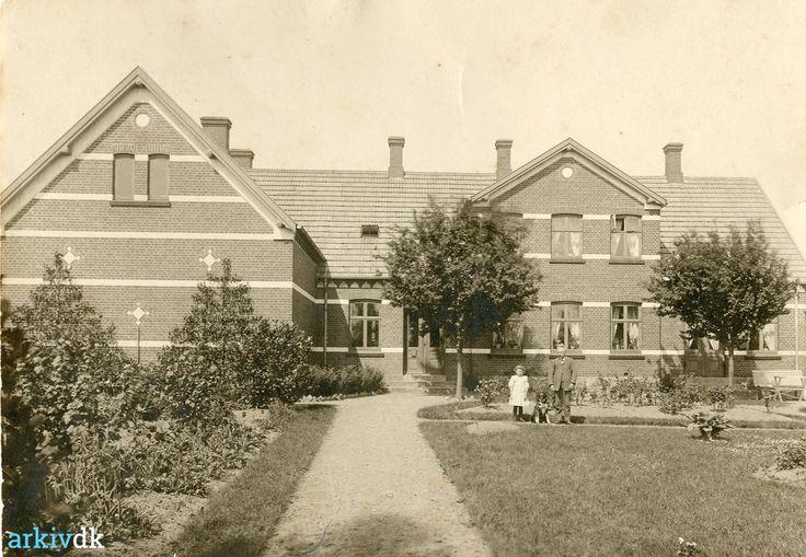 arkiv.dk   Maglebrænde Skole 1908
