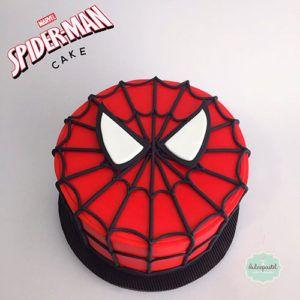Torta Hombre Araña en Medellín por Dulcepastel.com - Spiderman Cake in Medellin by Dulcepastel.com #spider #spiderman #spidermancake #hombrearaña #tortahombrearaña #araña #telaraña  #tortasmedellin #tortaspersonalizadas #tortastematicas #cupcakesmedellin #tortasartisticas #tortasporencargo #tortasenvigado #reposteriamedellin #reposteriaenvigado #redvelvetcake #redvelvet