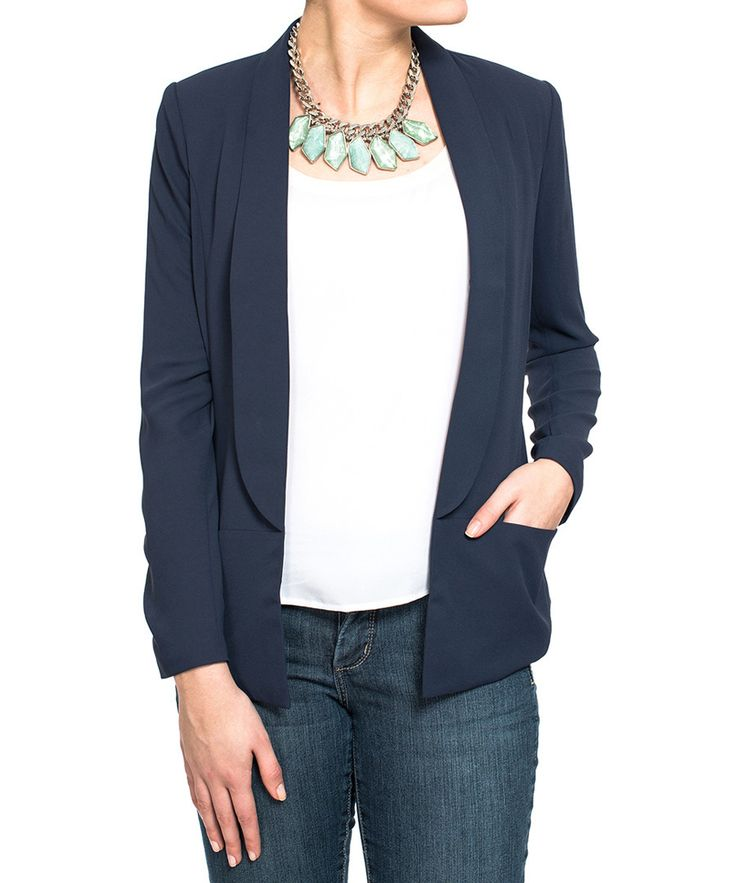 Navy single-breasted blazer Sale - NOT YOUR DAUGHTERS JEANS
