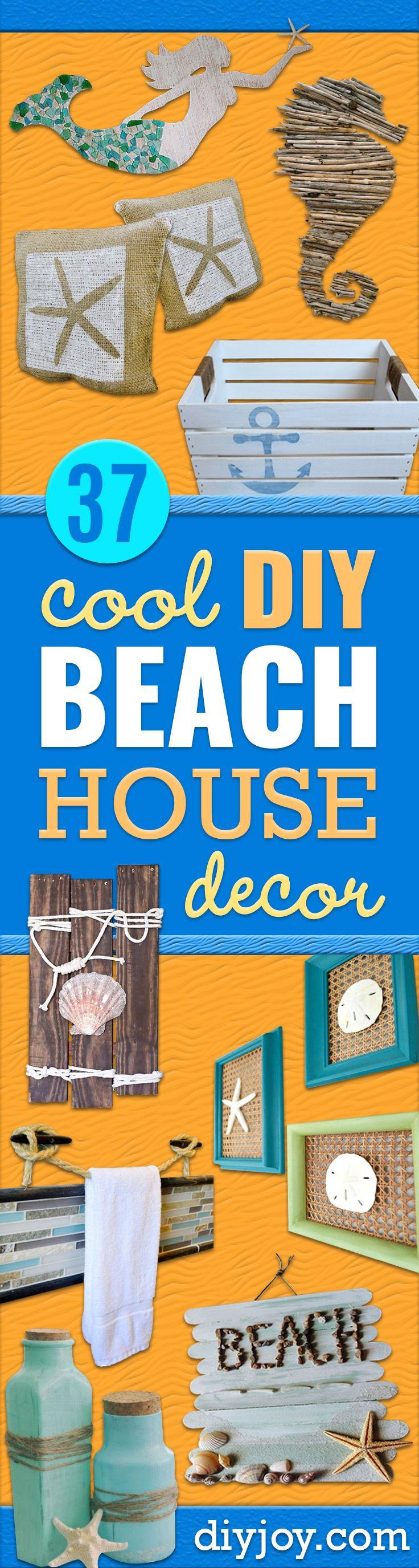2527 best diy crafts images on pinterest artesana artesanas 37 best diy beach house decor ideas solutioingenieria Choice Image