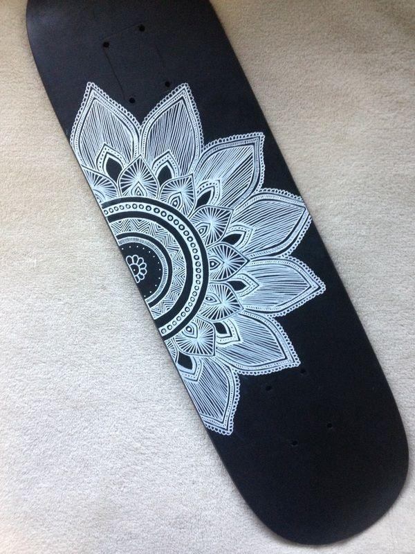 17 best ideas about skateboard design on pinterest skate - Skateboard dessin ...