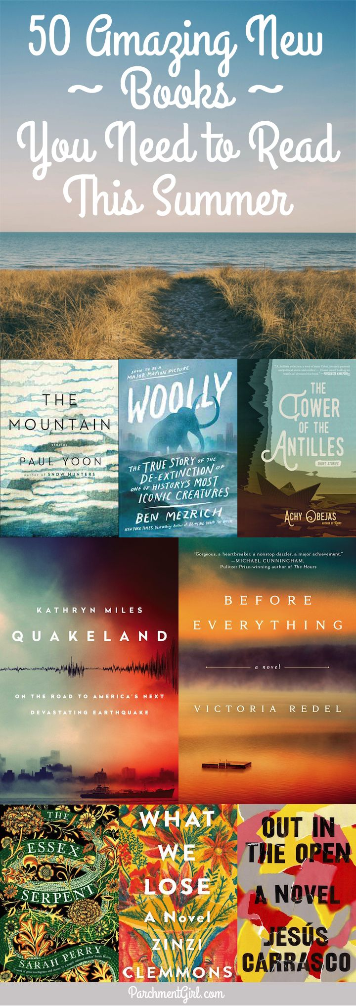 Looking for the perfect book to bring to the beach? Check out this EPIC list of hot new books hitting stores this summer!