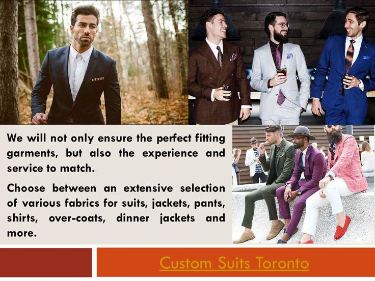 The colors, buttons, collars, cufflinks and more that you choose to incorporate into your custom suit all have an impact on the overall style that you are going for. Hop over to this website https://www.customsuitstoronto.ca/ for more information on Custom Suits Toronto.