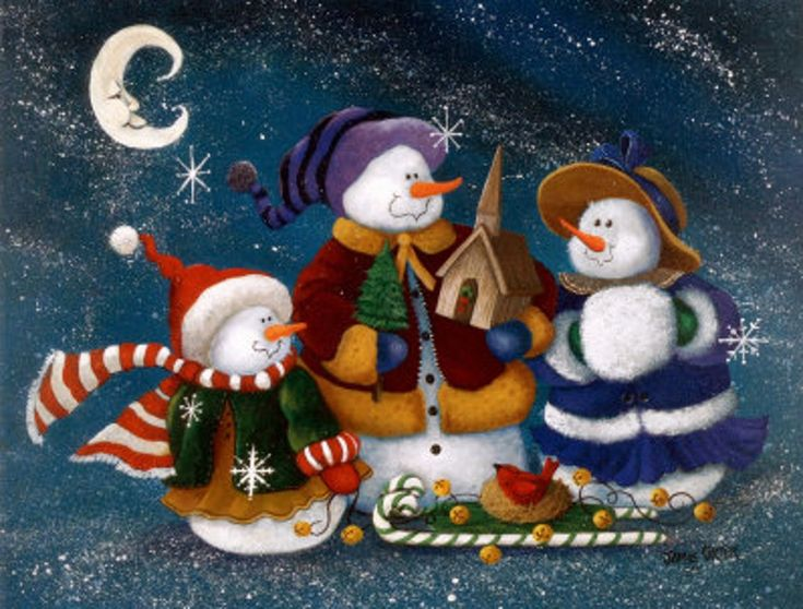 snowman images | This is the great let it snow snowman Wallpaper, Background, Picture ...