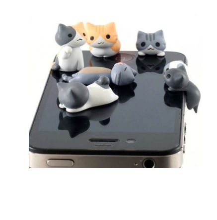 Discounted ANTI DUST EARPHONE JACK PLUG STOPPER CAP FOR MOBILE PHONE for only $43.90 Buy now!!