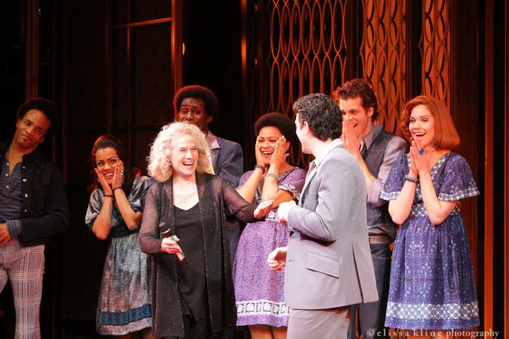 Big surprise for the cast, crew and audience at Beautiful - The Carole King Musical at the Steven Sondheim Theater. Photos by Elissa Kline Photography