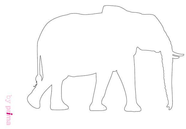 Jolie silhouette animale, Téléchargez et imprimez cette jolie silhouette animale.