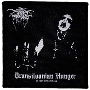 Dark Throne  Transilvanian Hunger Patch Darkthrone