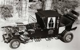 The Munsters car