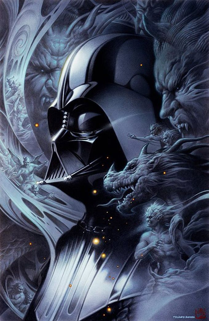 Tsuneo Sanda great Star Wars pictures