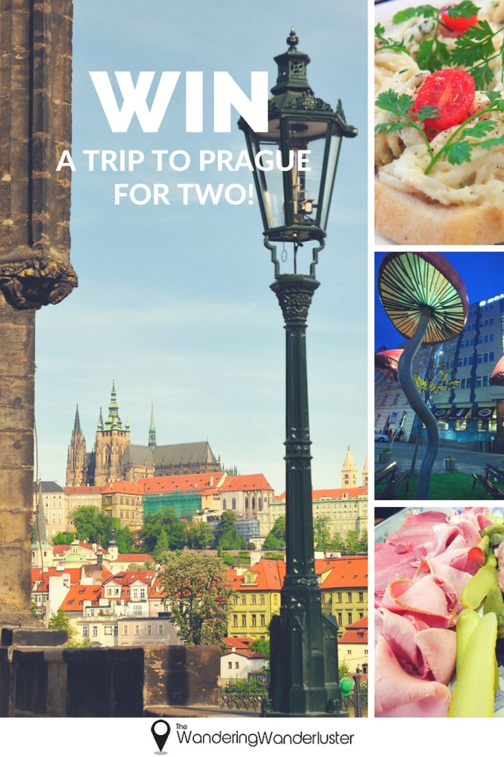 Win A Trip To Prague For Two With The Wandering Wanderluster! Enter now! www.thewanderingwanderluster.com/winPrague