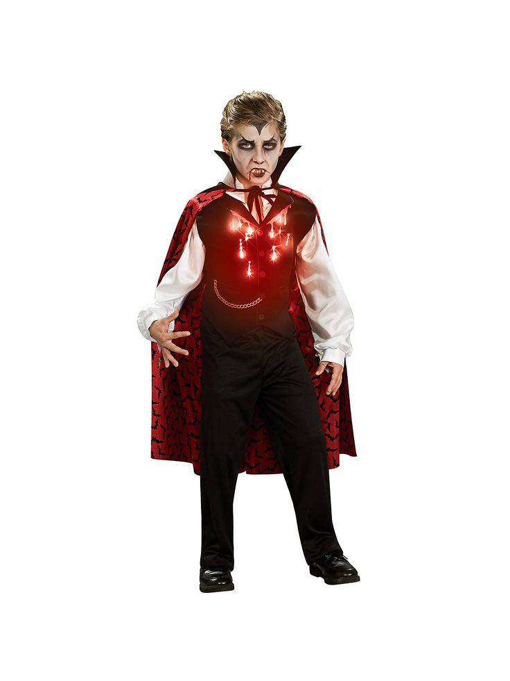 Boy's Vampire Costume! See more #costume ideas for Halloween and more at CostumeSuperCenter.com