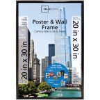 Buy Mainstays 20x30 Basic Poster and Picture Frame, Black, Set of 2 at Walmart.com