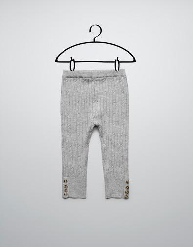 So comfy <3  TRICOT LEGGING - Broeken - Baby meisje (3-36 maanden) - Kinderen - ZARA Nederland
