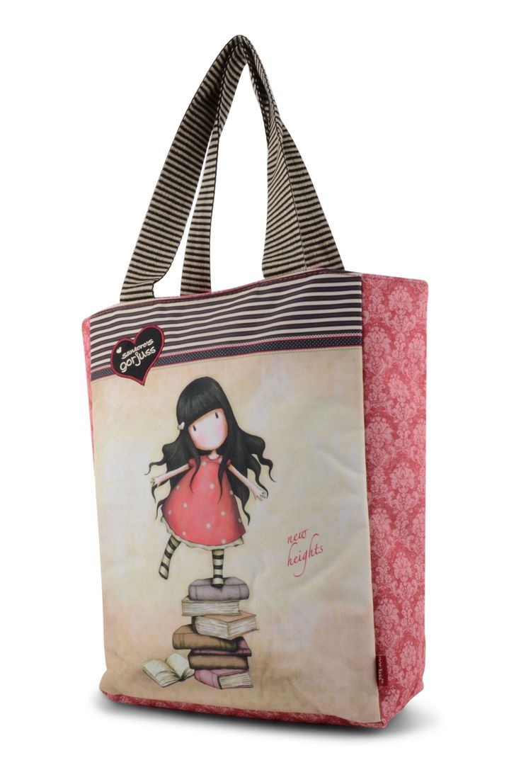 10% OFF Your First Order, FREE UK Delivery. www.schoolbagstation.com Gorjuss Shopper Bag - New Heights