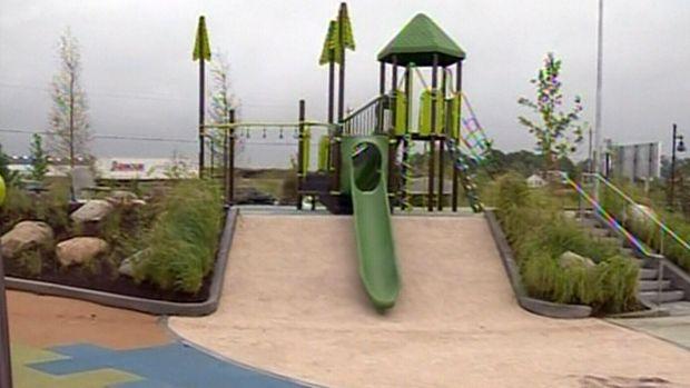 """Tar ponds transformed into """"Open Hearth Park"""".  www.abcrecreation.com"""