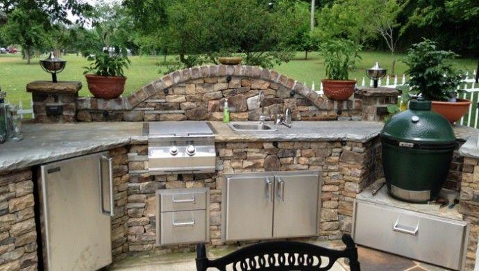 1001+ Ideen für Außenküche selber bauen – 23 Beispiele für selbstgebaute Gartenküchen!   – Claudia Schmidt