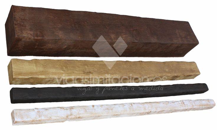 colores vigas imitacin madera rsticas decorativas vigas poliuretano y falsas