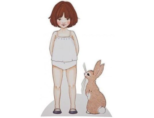 What Alice Found - Large Paper doll
