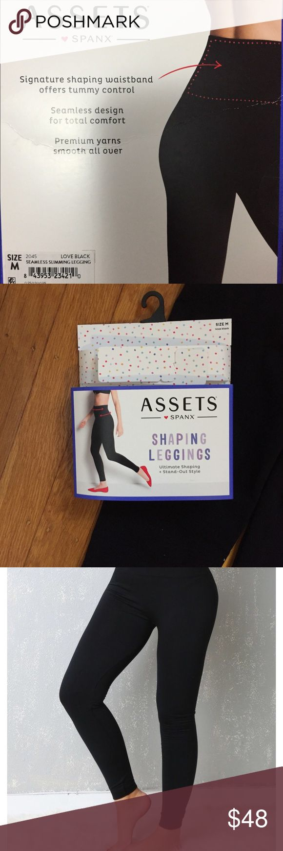 NWT Assets by Spanx Tummy Control  SzM Leggings NWT Assets by Spanx Tummy Control  Smooth Seamless Size M Leggings.   •••••This is a FIRM PRICE••••• Assets By Spanx Pants Leggings