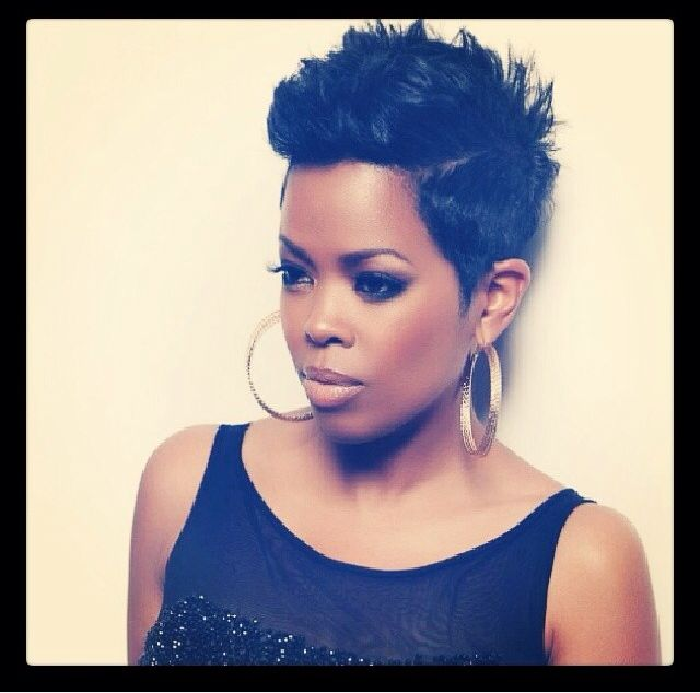 Malinda Williams - she has a youtube channel where she shows tips for styling and maintaining a short cut.