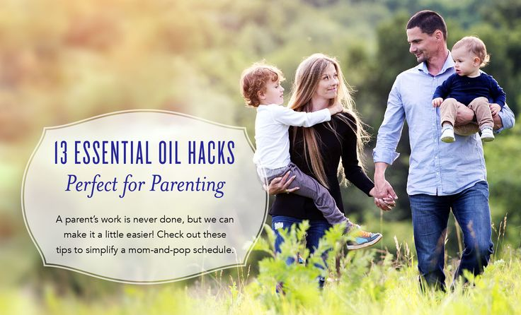 Between getting the kids ready for the day, making healthy meals, running to extracurricular activities, and keeping the house clean, it's a wonder parents have any time left to themselves. If you're looking for a few ways to seize more from each moment, check out this essential oils guide full of parent resources. These hacks can help you ...