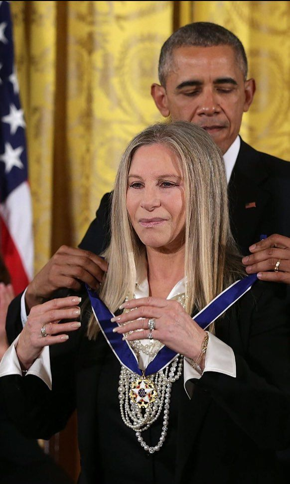 Barbra Streisand wins Presidential Medal of Freedom. Twitter