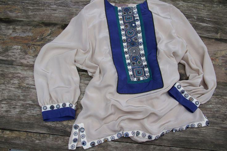 Крепдешиновая блуза