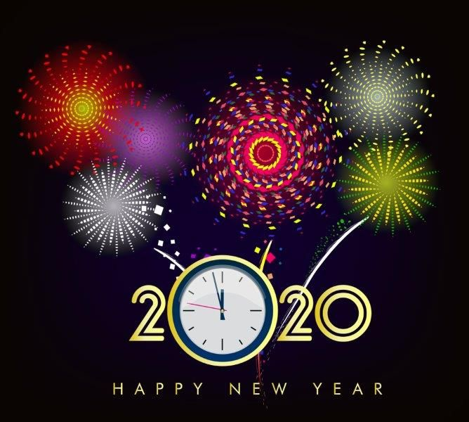 Happy New Year 2020 Hd Wallpaper Images Download Free Happy New Year Wallpaper Happy New Year Greetings Happy New Year Pictures