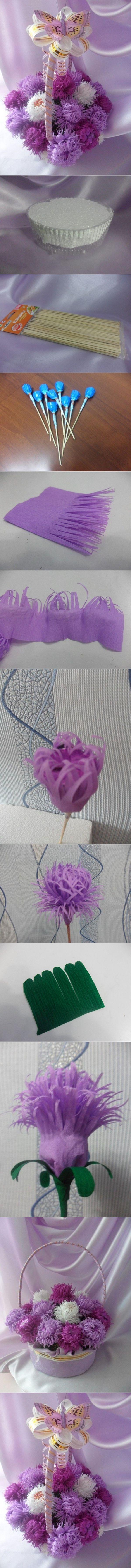 Flower bouquet tutorials