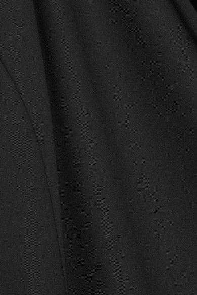 MM6 Maison Margiela - One-shoulder Crepe De Chine Jumpsuit - Black - IT