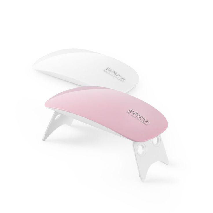 SUNUV SUNmini 6 w lampa UV LED paznokci suszarka przenośne USB kabel dla prime prezent użytku domowego 45 s/60 s ustawienia timera, żel polski paznokci suszarka