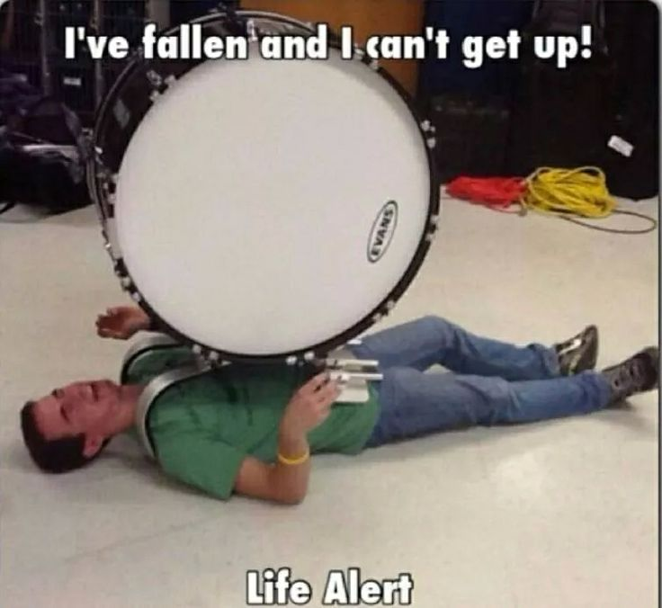 Help! I've fallen and I can't get up!