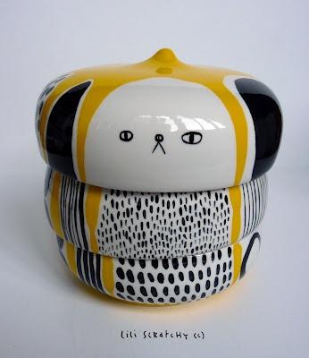 Lili scratchy ceramics