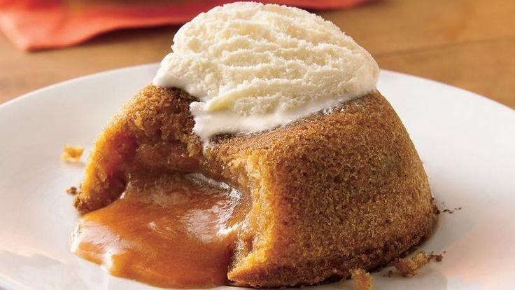 Molten Butterscotch Cakes Recipe Butterscotch Cake Oh