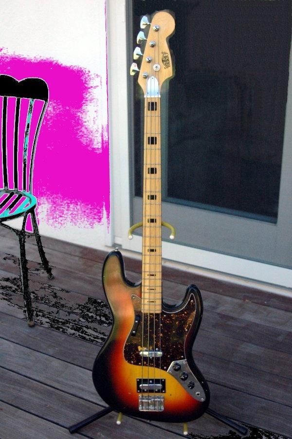Matao Jazz Bass: Jazz Bass, String Attached, Matao Jazz, Electric Guitar