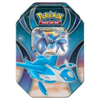 2016 Pokemon Trading Cards Best of EX Tins featuring Latios