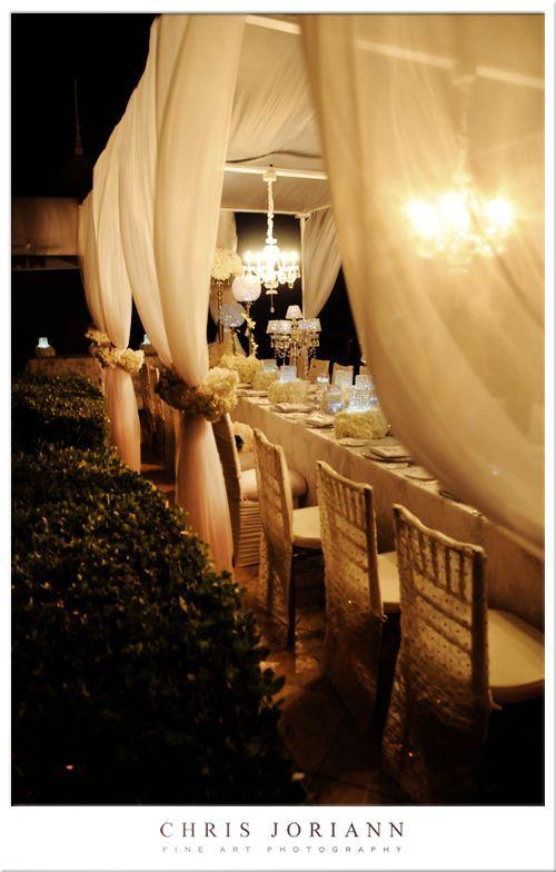 Romantic wedding reception - My wedding ideas
