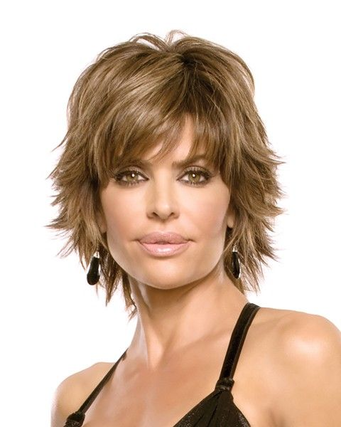 Ladies short haircut