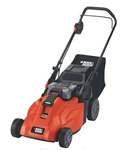 "Amazon.com : Black & Decker CM1936ZA 36V Cordless Electric Lawn Mower with Removable Battery, 19"" : Patio, Lawn & Garden"