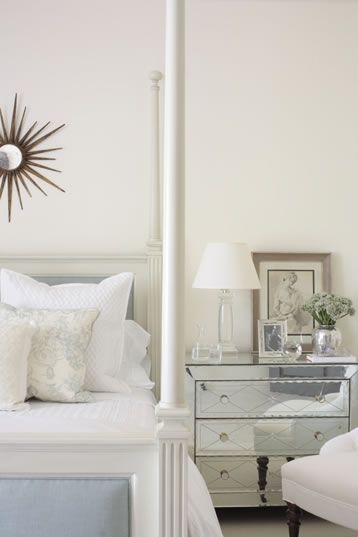 17 Best Images About Blue Silver Bedroom On Pinterest Mirrored Nightstand Silver Bedroom And