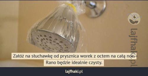 Jak łatwo wyczyścić prysznic? - pomysły, triki, sposoby, lifehacki, porady