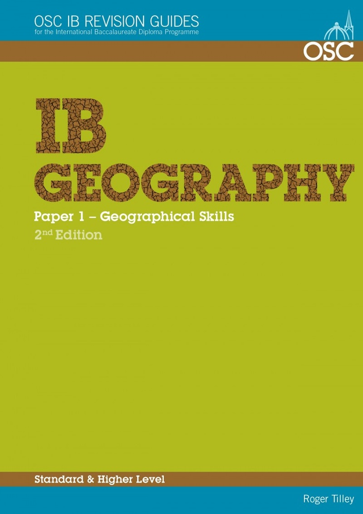 Geography Book Cover Ideas ~ This comprehensive international baccalaureate ib