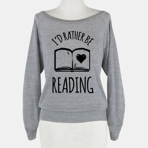 I'd Rather Be Reading shirt lauv it
