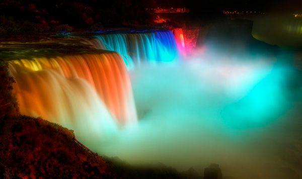 Niagara Falls at Night!!!!: Bucket List, Amazing Waterfalls, Favorite Places, Travel Bucket, Niagara Falls, Beautiful, Night, Niagarafalls