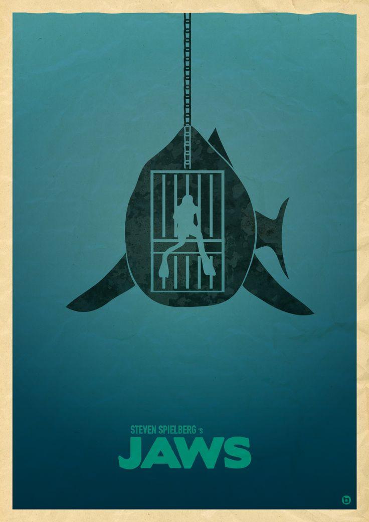 Minimalist Classroom Music : Plan b jaws poster g  minimalist posters