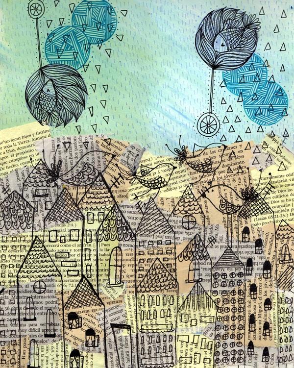...Una ciudad se hace un mundo cuando uno ama a uno de sus habitantes....