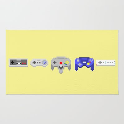 Nintendo Area Amp Throw Rug By 8 Bomb 28 00 Sick